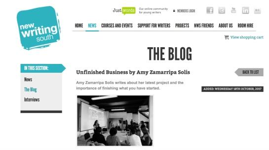 NWS blog unfinished business